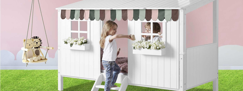 FLEXA Baumhaus Spielbettgestell