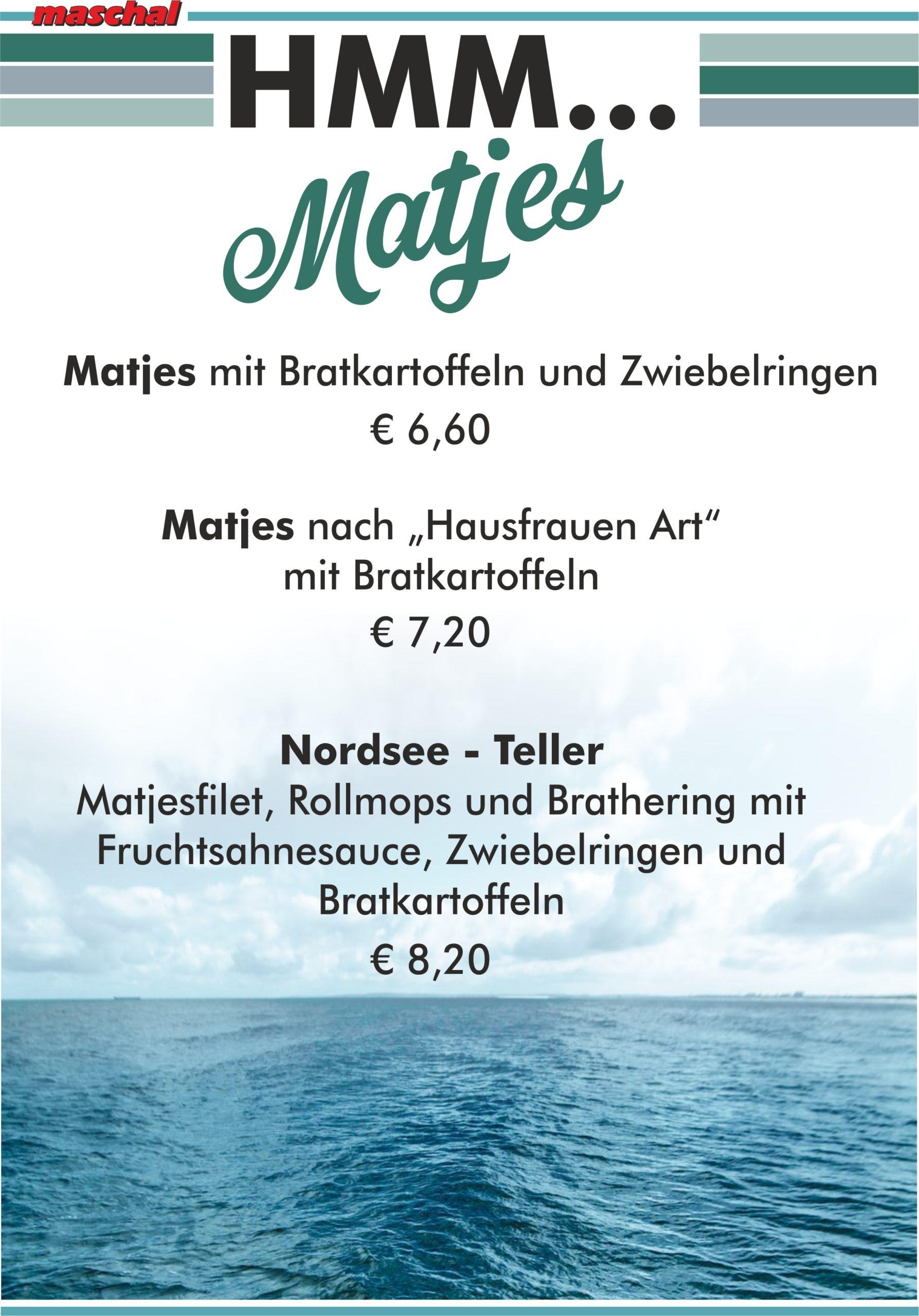 Matjes-Bistro-Karte-maschal-Varel-Wilhelmshaven-Oldenburg-Ostfriesland