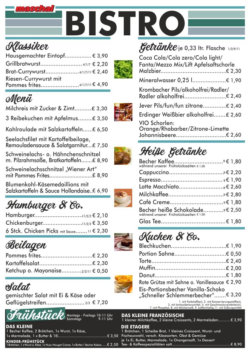 Bistro-Karte-maschal-Varel-Wilhelmshaven-Oldenburg-Ostfriesland