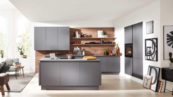 Interliving Küche Serie 3030 mit SIEMENS Einbaugeräten