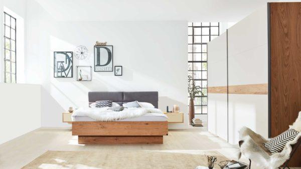 Interliving Schlafzimmer Serie 1002 – Komplettzimmer mit Beleuchtung und Extras