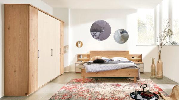 Interliving Schlafzimmer Serie 1013 – Komplettzimmer mit Aufsätzen