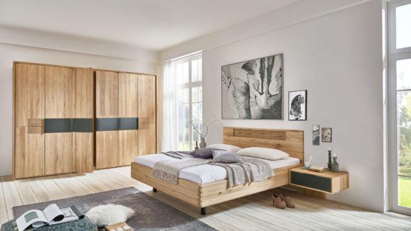 WÖSTMANN Schlafmöbelprogramm WSM 1600 – Komplettzimmer mit Passepartout