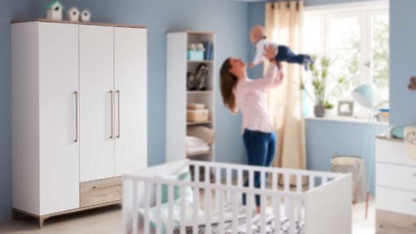 PAIDI Babyzimmer Katrin – Kleiderschrank
