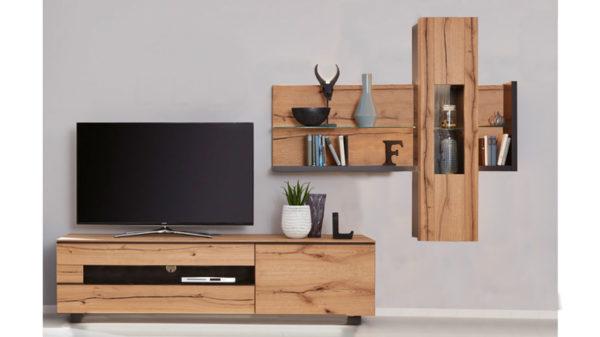 Interliving Wohnzimmer Serie 2103 – Wohnwand 560001S