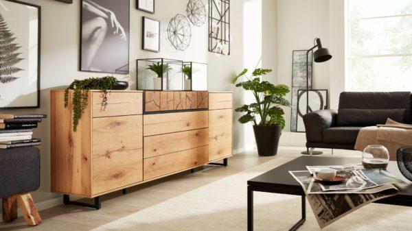 Interliving Wohnzimmer Serie 2106 – Sideboard 620810