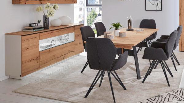 Interliving Wohnzimmer Serie 2103 – Sideboard 560811