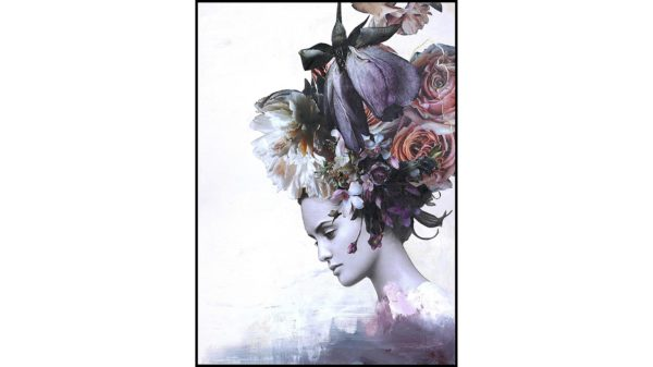 Posterboard Haute Couture 7 mit Rahmen